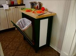 kitchen how to build a garbage can holder tilt out cabinet