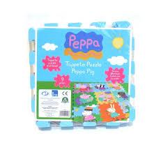 tappeti puzzle tappeto puzzle peppa pig giochi preziosi