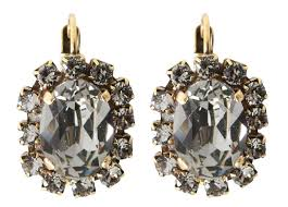 Blanc Mariclo Shop On Line by Earrings Decochic Fr