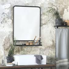 vintage bathroom mirrors vintage bathroom mirrors style uk with shelf retro mirror