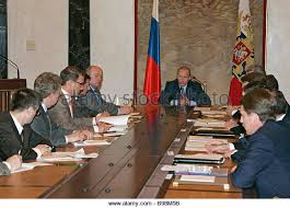 The Cabinet In Government President Vladimir Putin Center Cabinet Stock Photos U0026 President