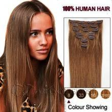 Light Brown Hair Extensions Clip In On Hair Extensions