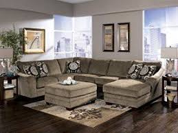 Large Sectional Sofa by Microfiber Sectional Sofa With Ottoman Foter
