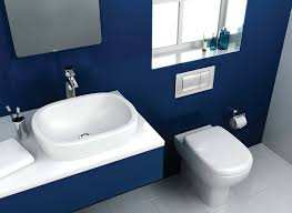 Latest In Bathroom Design Blue Modern Bathroom With Glass Shower Box Design Ideas Five Idolza