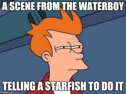 Starfish Meme - futurama fry meme imgflip