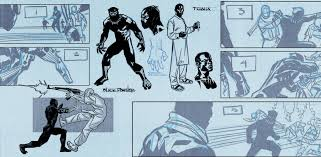 an exclusive look at u0027black panther 1 u0027 by ta nehisi coates the