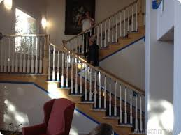 Staining Banister 7 Cool And Very Easy Diy Banister Makeovers Shelterness