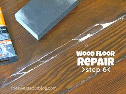 wood floor repair how to the spot