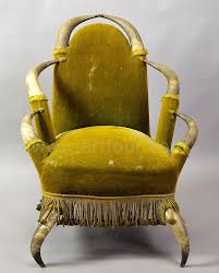 Musical Chairs Horn Antique Bull Horn Chair Austria 1870 Realm Of Fantasy Fantasy