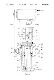 patent us5025757 reciprocating piston engine with a varying
