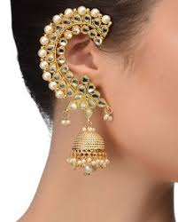 ear cuffs india earrings designs for and indian jewelery