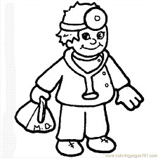nice doctor coloring pages coloring books 3398 unknown