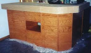 how to build an easy table free diy home bar plans 8 easy steps homewetbar be awesome blog
