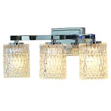 Allen And Roth Bathroom Vanities by Allen Roth 3 Light Flynn Polished Chrome Bathroom Vanity Light