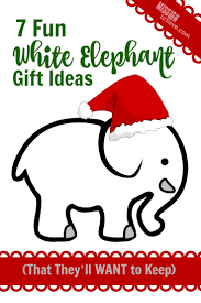 7 fun white elephant gift ideas that they u0027ll want to keep