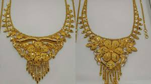 best necklace designs images Latest best bridal gold necklaces evergreen designs 2018 jpg