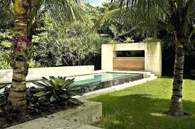 Modern Landscaping Ideas For Backyard Landscape Design In South Florida Landscape Ideas Residential