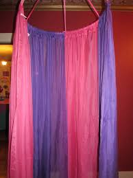 Canopy Photo Booth by Diy Canopy Made From Sheer Panel Curtains And A Hula Hoop That I