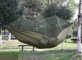 2017 camping double harga hammock parachute fabrics mosquito net