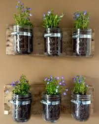 Indoor Wall Herb Garden Pin By Dana Jaworski On For The Home Pinterest Mason Jar