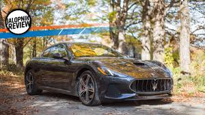 maserati granturismo blacked out the 2018 maserati granturismo mc is a magnificent aural dinosaur