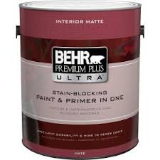 behr premium plus ultra 1 gal ultra pure white matte interior
