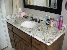 Bathroom Vanity Backsplash Ideas Appealing Bathroom Vanity Granite Backsplash Granite Backsplash