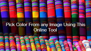 online tool to pick color from image youtube