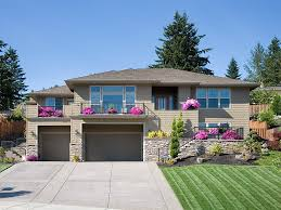 hillside house plans for sloping lots front sloping lot house plans homes floor plans