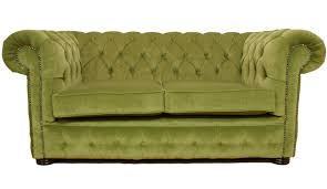 2 Seater Fabric Chesterfield Sofa by Furniture Relaxing Green Sofas For Vivacious Living Room