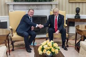 file lars løkke rasmussen and donald trump in the oval office