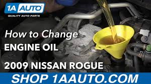 nissan rogue quality ratings how to change engine oil 2009 nissan rogue youtube