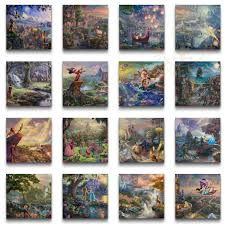 disney ultimate collection 2014 set of 16 wraps 14 x 14