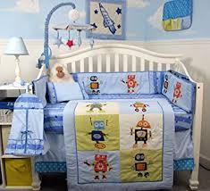 Soho Crib Bedding Set Soho Mechanical Heros Baby Crib Nursery Bedding Set