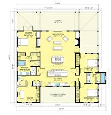 Country Kitchen Floor Plans by Houseplans Com Country Farmhouse Main Floor Plan Plan 888 7