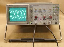 tektronix 2235 100mhz 2 channel analog oscilloscope tested works