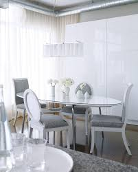 Condo Tour A Warm Allwhite Design Style At Home - All white dining room