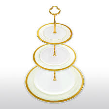 tier cake stand bone china 3 tier cake stand gold and homenique