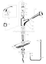 parts of a kitchen faucet retractable kitchen faucet repair lovely standard 4205 104
