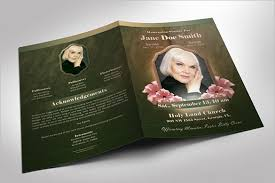 Funeral Program Maker Obituary Template 40 Free Word Excel Pdf Psd Format Free