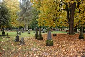 halloween city grants pass lone fir cemetery metro