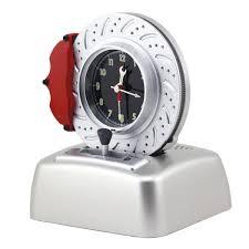 cool desk clocks kids alarm clock no ticking analog battery operated cool car lover