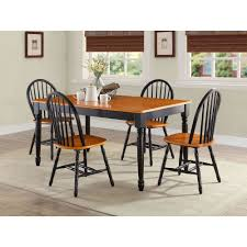 better homes and gardens u0026reg autumn lane 7 piece dining set black