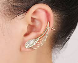 wing earrings and gold angel wing earrings