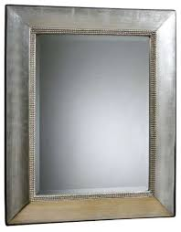Uttermost Mirrors Dealers Uttermost Fresno Antique Silver Mirror Contemporary Wall
