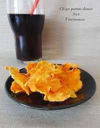 cuisiner patates douces chips de patate douce au four aux fourneaux