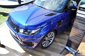 land rover lr2 lifted update1 2015 range rover sport svr makes usa debut at pebble