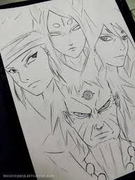 sketches naruto shippuden drawings sketch www sketchesxo