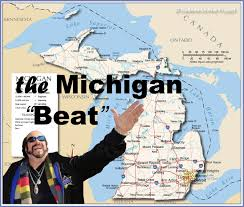Saginaw Michigan Map by The Michigan Story Rob The Drummer