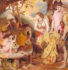 Light Colored Tapestry The Coat Of Many Colours U0027 Ford Madox Brown 1867 Tate